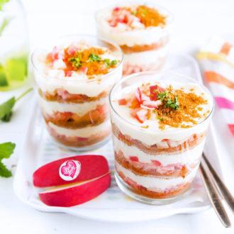 Tiramisu d'été épicé aux pommes Pink Lady®